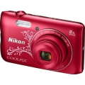 COOLPIX A300 Red Lineart NIKON