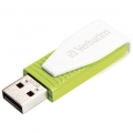 USB FD 32GB Swivel Green VERBATIM